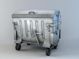 City Dumpster 3d model