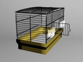 Large Birdcage 3d model