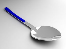 Metal Spoon 3d model