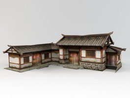Traditional Chinese Dwelling 3d preview