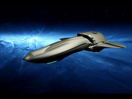 Sci-Fi Spaceships Fighter 3d model