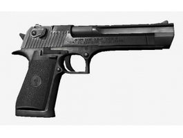Police Pistol 3d model