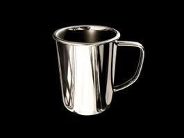 Stainless Steel Cup 3d model