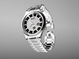 Ernest Borel Watch 3d model