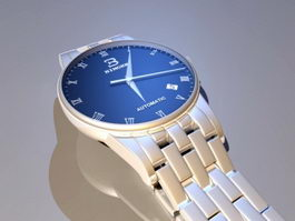 Binger Watch Blue 3d model