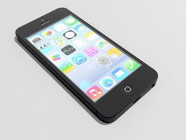 iPhone Black 3d model