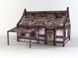 Old Folk House 3d model