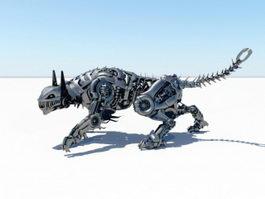 Robot Tiger 3d model
