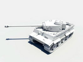 King Tiger Tank 3d model