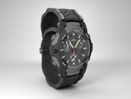 Casio G-Shock Frogman 3d model