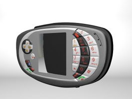 Nokia N-Gage QD 3d model