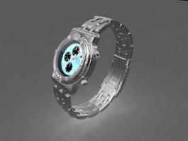 Expensive Watch 3d model