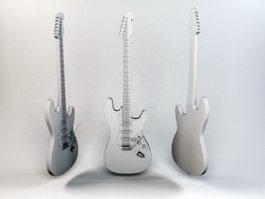 Jazz Bass 3d model