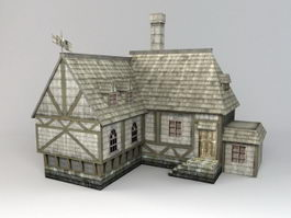Medieval Dwelling 3d preview
