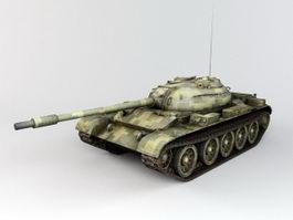 Type 59 Tank 3d model
