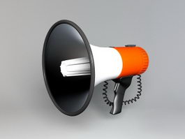 Electric Megaphone 3d model