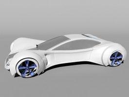 Future Sports Car 3d model