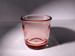 Glass Drinking Cup 3d model