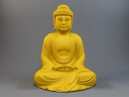 Tathagata Sakyamuni Buddha 3d model