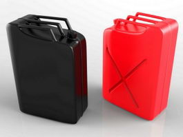 Jerrycan Gas Can 3d model