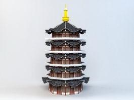 Leifeng Pagoda 3d model