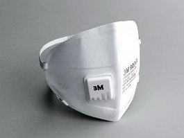 3M Surgical Mask 3d preview