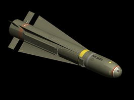AGM-65 Maverick Missile 3d preview