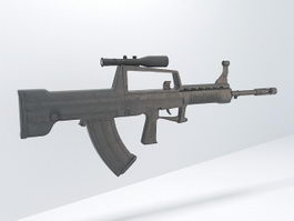 Type 95 Automatic Rifle 3d model