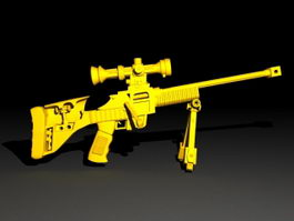 Tactical Sniper Rifle 3d model