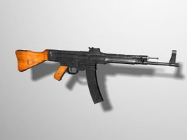 StG 44 Assault Rifle 3d model