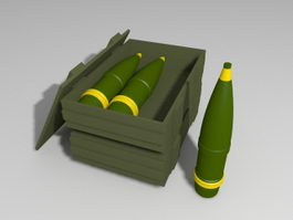 Artillery Shells 3d preview