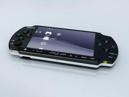 PSP-3000 3d model