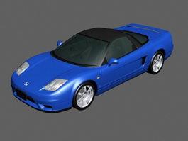 Honda NSX Sports Car 3d model