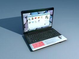 Compaq Presario CQ45 3d model