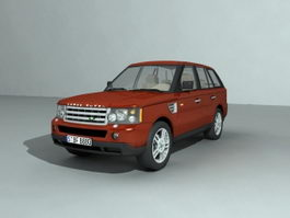 Land Rover Range Rover 3d model