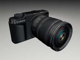 Panasonic Lumix DMC-L10 3d model