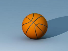 Typical Basketball 3d model