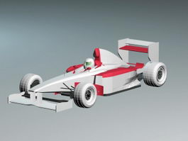 Ferrari F399 Formula One Racing Car 3d preview