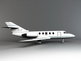 Small Private Plane 3d model