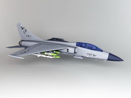 JH-7 Flying Leopard Fighter-Bomber 3d model