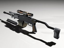 AR-36B Rifle 3d preview
