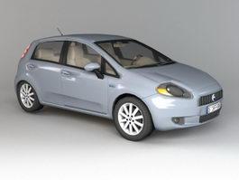 Fiat Punto Hatchback 3d model