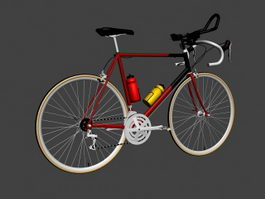 Gitane Racing Bicycle 3d model