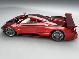Pagani Zonda Roadster 3d model