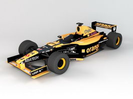 Arrows F1 2001 3d preview