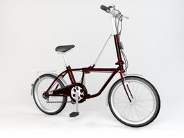 Chopper Bicycle 3d model