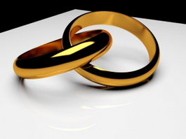 Gold Ring 3d preview