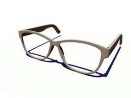 Glasses Frame 3d model