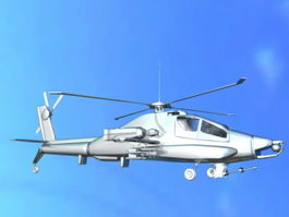 Army Apache 3d model