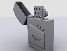 Vintage Zippo Lighter 3d model
